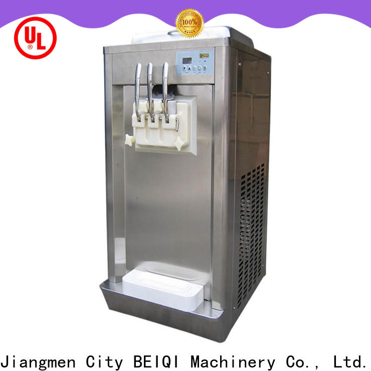 BEIQI portable soft ice cream machine price supplier For Restaurant