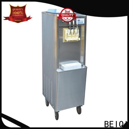 BEIQI funky Soft Ice Cream Machine OEM For Restaurant