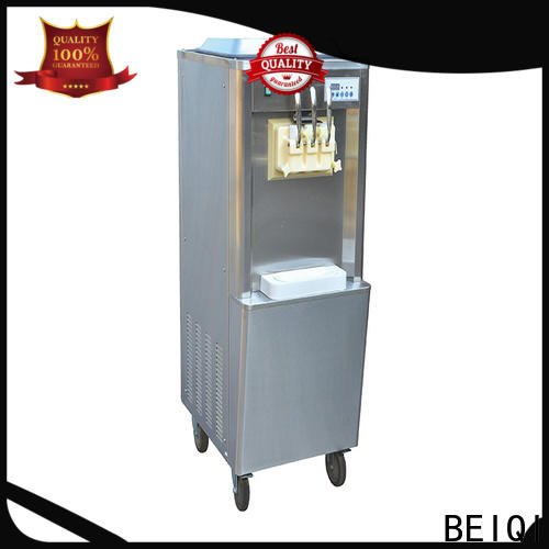 BEIQI funky Soft Ice Cream Machine OEM For Restaurant