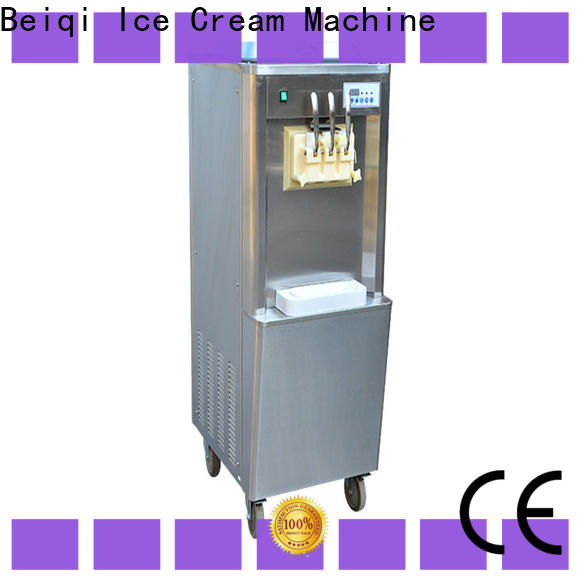 BEIQI silver soft serve ice cream vending machine factory price Frozen food factory