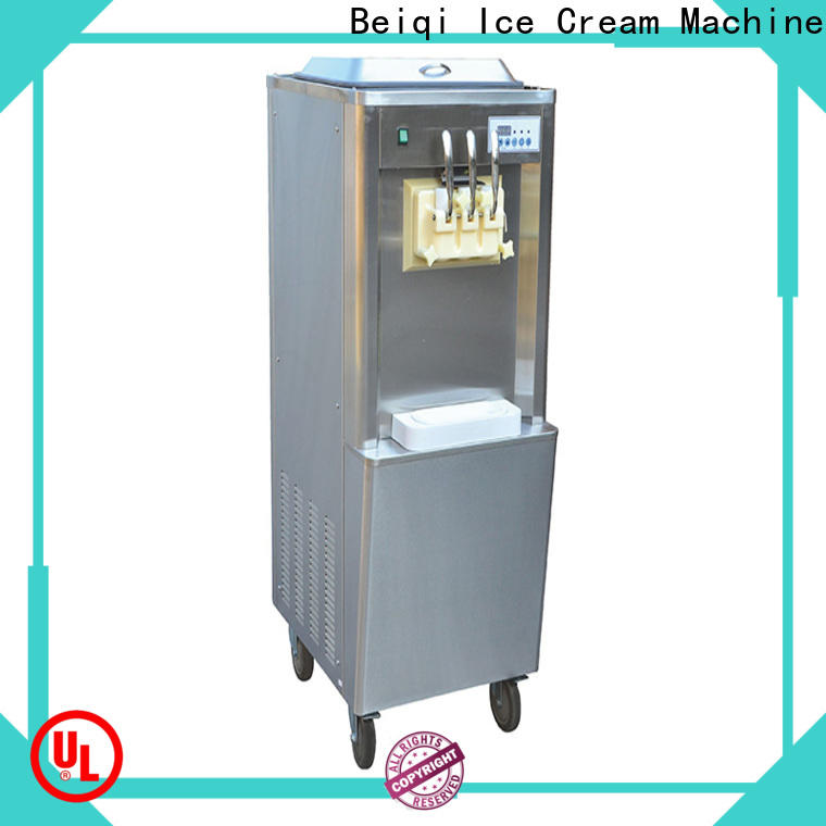 BEIQI Soft Ice Cream Machine for sale vendor Snack food factory