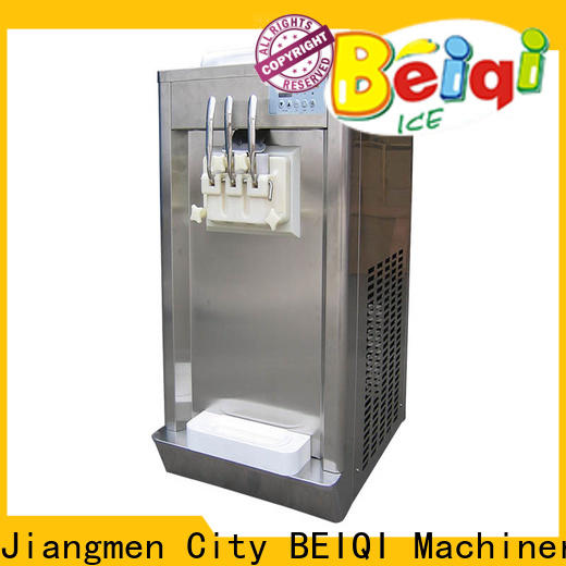 Custom commercial soft serve frozen yogurt machine different flavors factory price for supermarket