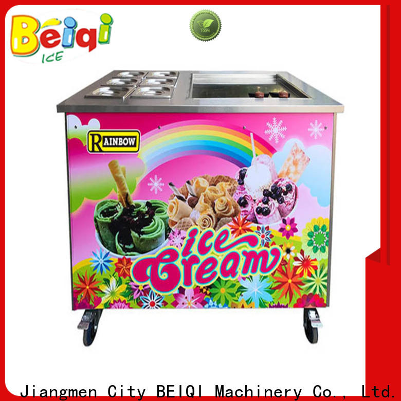 Latest Fried Ice Cream Maker Double Pan manufacturers for mall