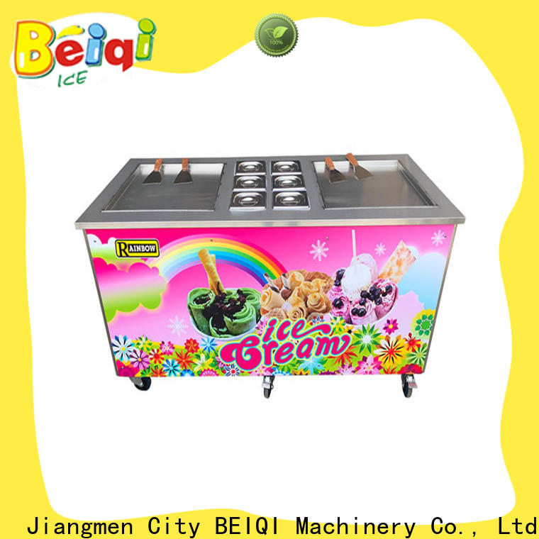 BEIQI Professional Fried Ice Cream making Machine wholesale for dinning hall