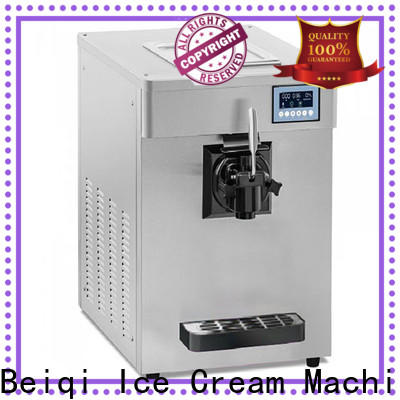 Custom made electric ice cream machine commercial use for sale for dinning hall