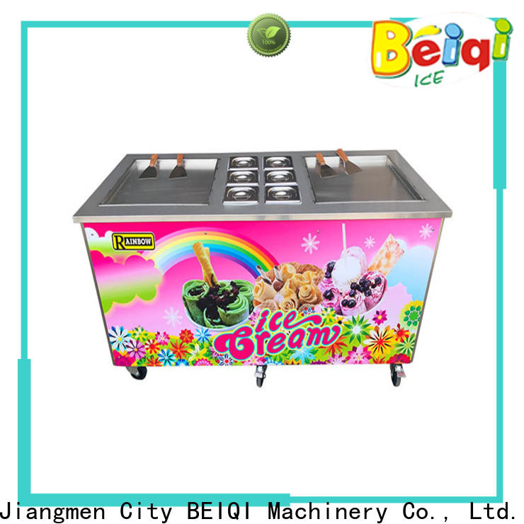 Quality Fried Ice Cream Maker silver for sale for hotel