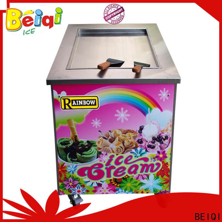 BEIQI Custom made Fried Ice Cream Machine vendor for restaurant
