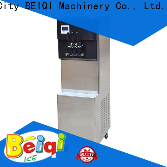 BEIQI silver buy ice cream machine commercial company for dinning hall