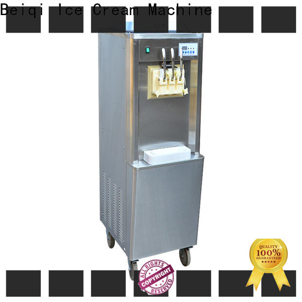 Custom buy commercial soft serve ice cream machine different flavors wholesale for supermarket
