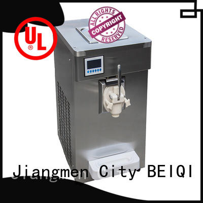 BEIQI funky Soft Ice Cream Machine bulk production For Restaurant