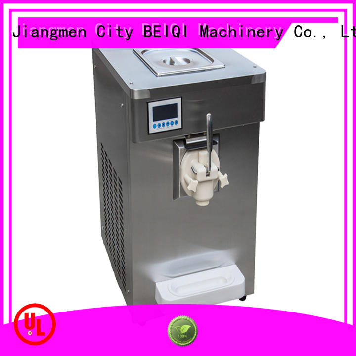 BEIQI latest Soft Ice Cream Machine OEM For dinning hall