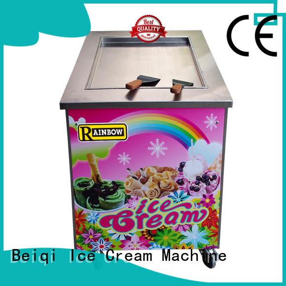 BEIQI high-quality Fried Ice Cream making Machine ODM For Restaurant