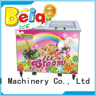 BEIQI high-quality Soft Ice Cream Machine for sale for wholesale Snack food factory