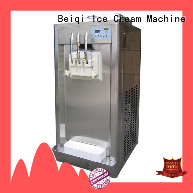 different flavors Soft Ice Cream maker customization Frozen food factory BEIQI