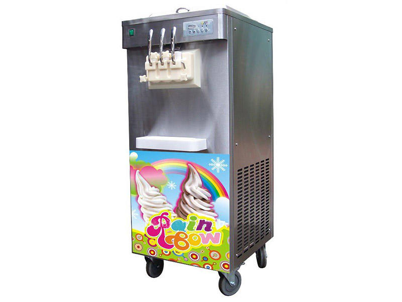 BEIQI Breathable Manufacturer supply Commercial Soft Ice Cream Machine silver For dinning hall-2