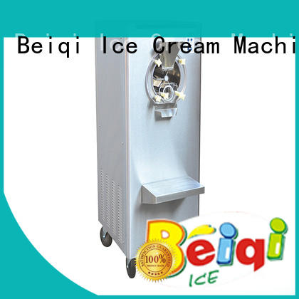 solid mesh Hard Ice Cream Machine excellent technology bulk production For commercial