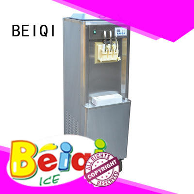 solid mesh ice cream machine price silver bulk production For dinning hall
