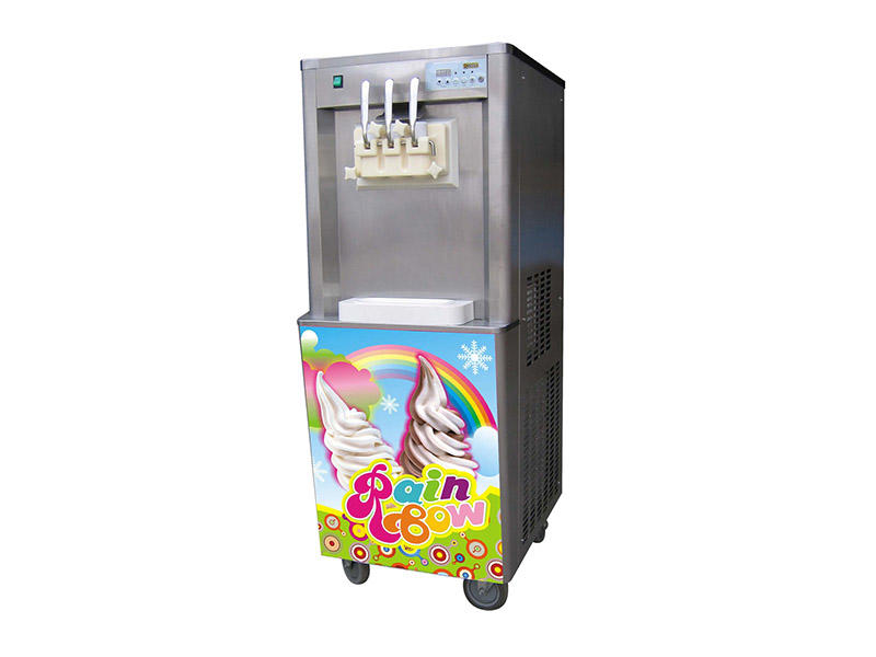 BEIQI Breathable Manufacturer supply Commercial Soft Ice Cream Machine silver For dinning hall-1