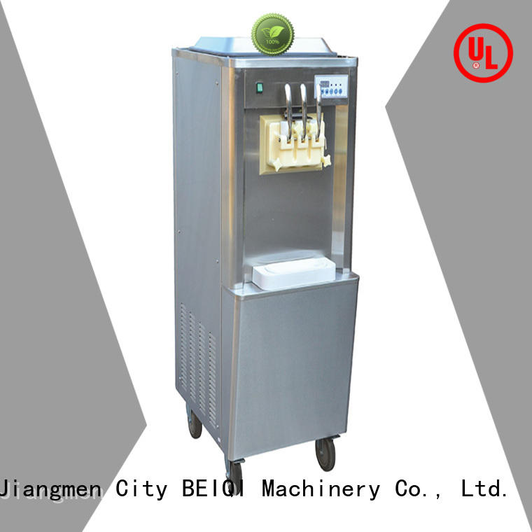 BEIQI Soft Ice Cream Machine for sale buy now Snack food factory