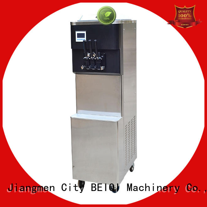 BEIQI commercial use Soft Ice Cream maker bulk production Snack food factory