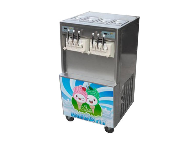 solid mesh soft ice cream maker machine commercial use customization Frozen food factory