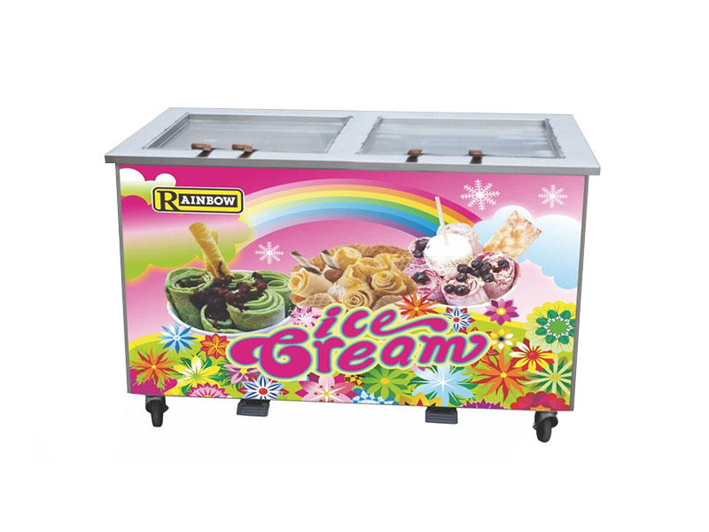 Fried ice cream machine BQF217