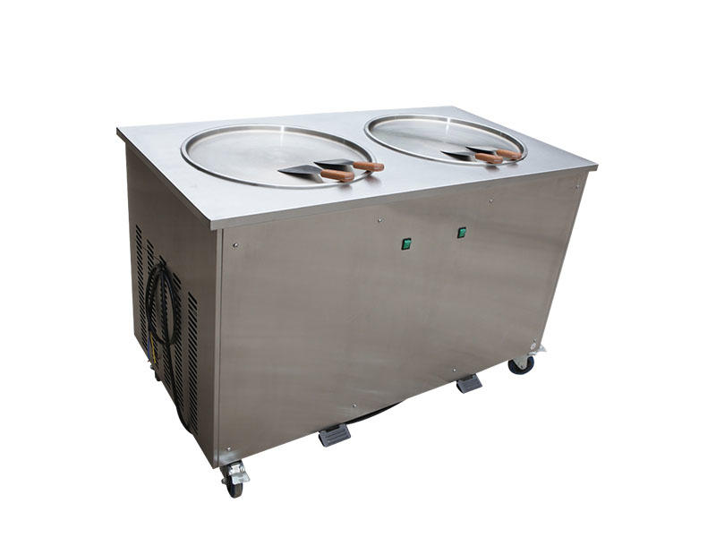 portable Fried Ice Cream Machine different flavors ODM For Restaurant