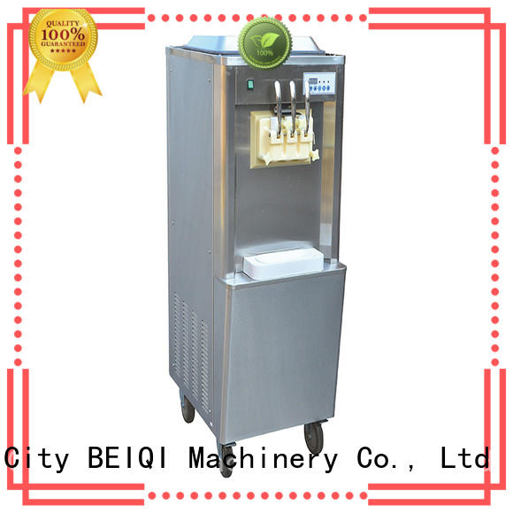 BEIQI silver Soft Ice Cream maker buy now For dinning hall