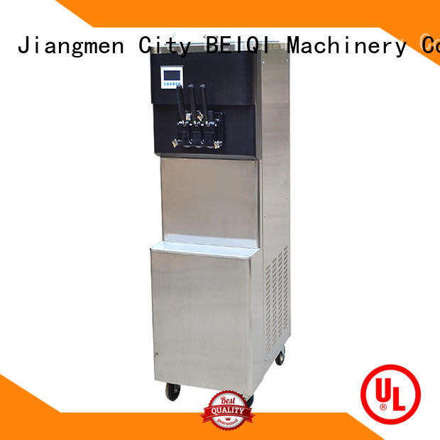 solid mesh Soft Ice Cream Machine for sale ODM Frozen food Factory