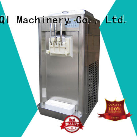 BEIQI durable Three flavors Soft Ice Cream Machine different flavors For Restaurant