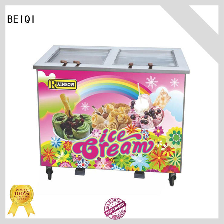 BEIQI high-quality Fried Ice Cream making Machine free sample For commercial