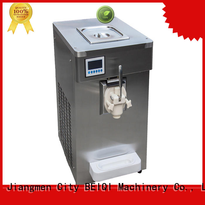 BEIQI commercial use commercial soft serve ice cream maker supplier Snack food factory