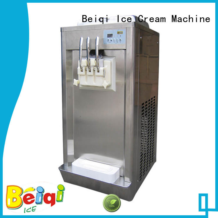BEIQI different flavors soft ice cream maker machine buy now For commercial
