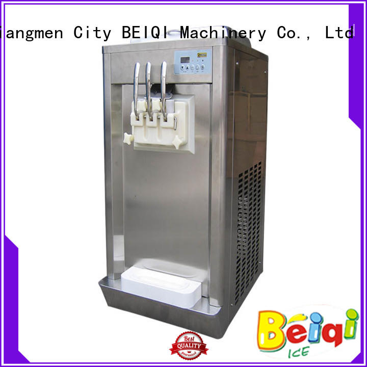BEIQI silver Soft Ice Cream maker buy now For Restaurant