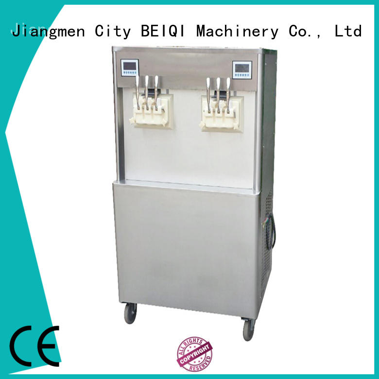 portable Soft Ice Cream Machine for sale for wholesale Snack food factory