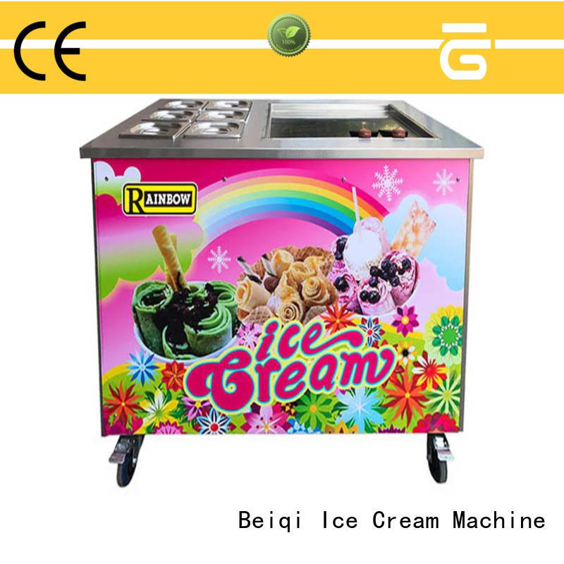 BEIQI latest Fried Ice Cream Maker supplier Frozen food factory