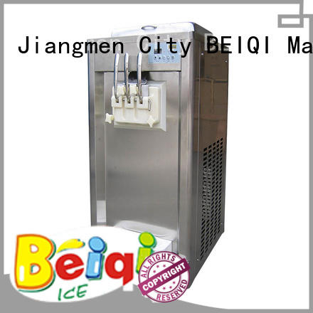 BEIQI durable Soft Ice Cream Machine for sale free sample Snack food factory