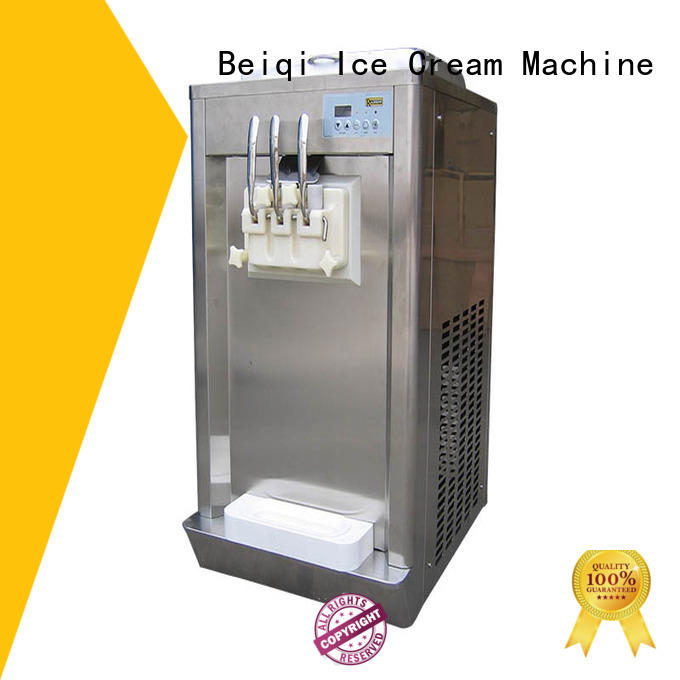 portable soft serve ice cream machine for sale silver ODM Snack food factory