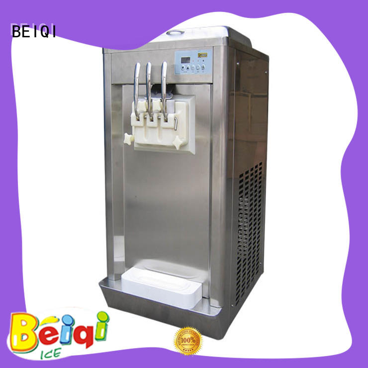 solid mesh Soft Ice Cream Machine different flavors get quote Frozen food factory