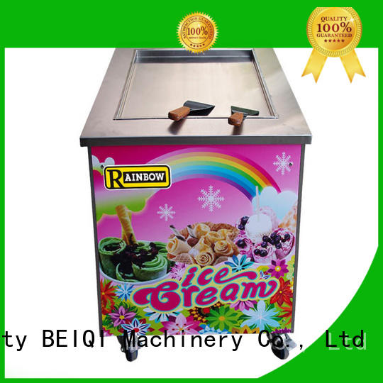 BEIQI latest Fried Ice Cream making Machine bulk production For Restaurant