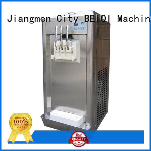 solid mesh Soft Ice Cream Machine commercial use customization For dinning hall