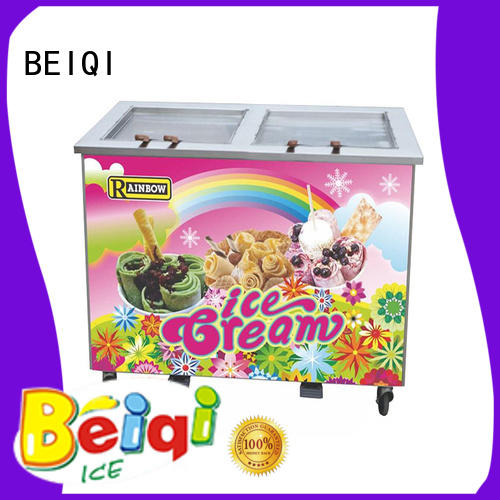 BEIQI solid mesh Fried Ice Cream Maker customization For dinning hall