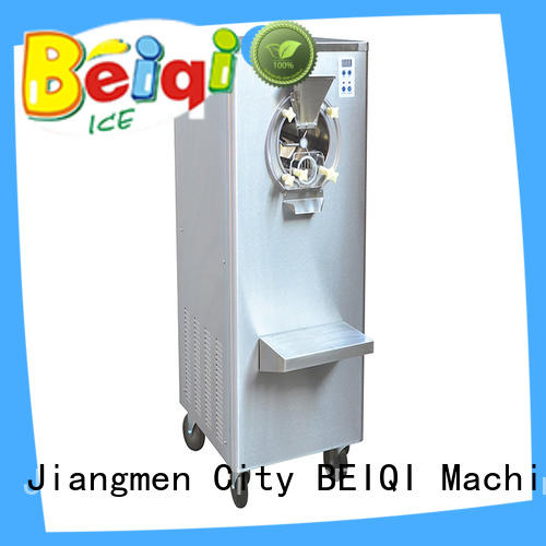 BEIQI high-quality Soft Ice Cream Machine for sale free sample Snack food factory