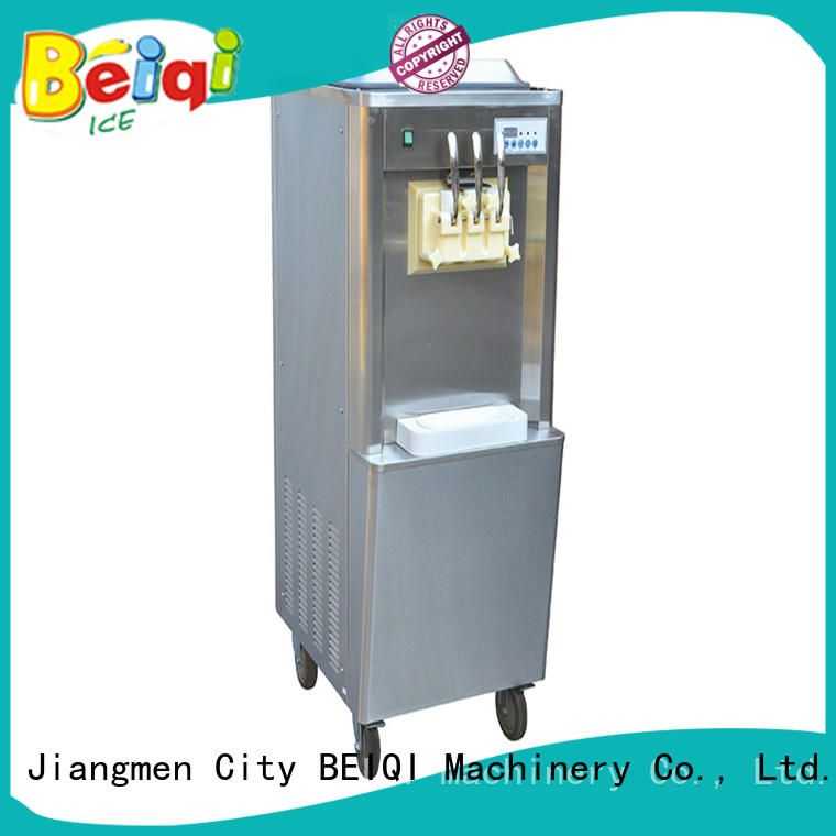 latest soft ice cream maker for sale silver ODM Snack food factory
