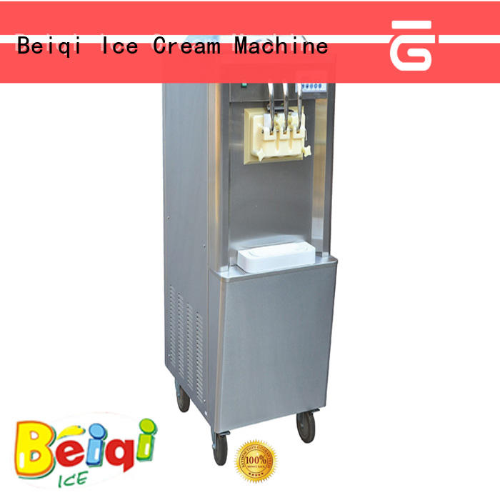 BEIQI silver commercial ice cream machine buy now Frozen food factory