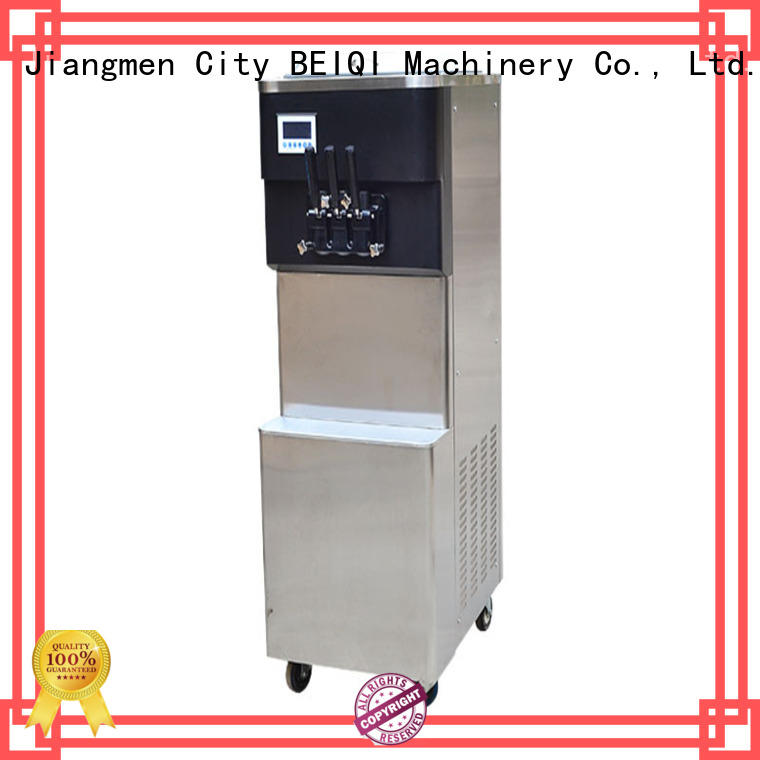 BEIQI commercial use Ice Cream Machine Company customization For dinning hall