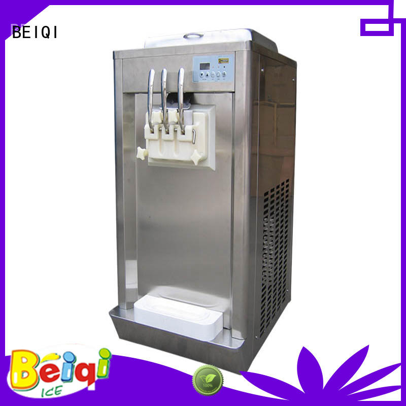 BEIQI funky Soft Ice Cream Machine for sale customization Snack food factory