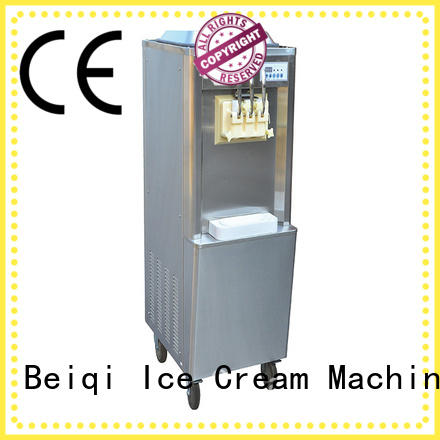 BEIQI solid mesh Soft Ice Cream Machine for sale OEM For Restaurant