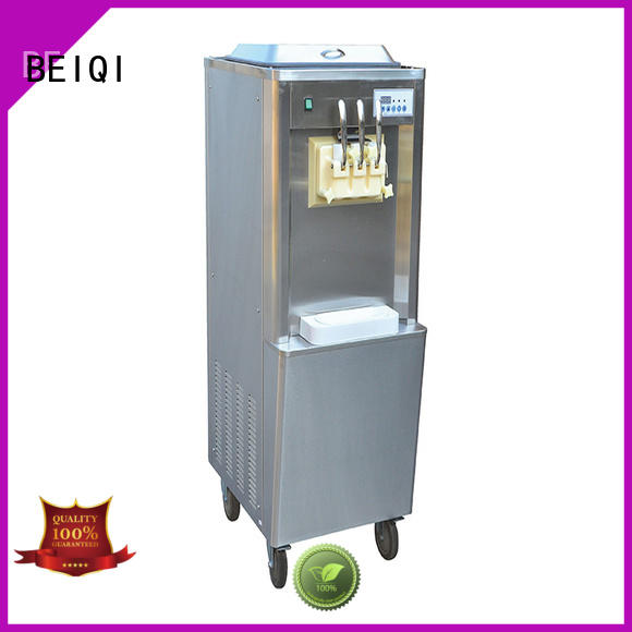 BEIQI solid mesh commercial ice cream making machine ODM For Restaurant