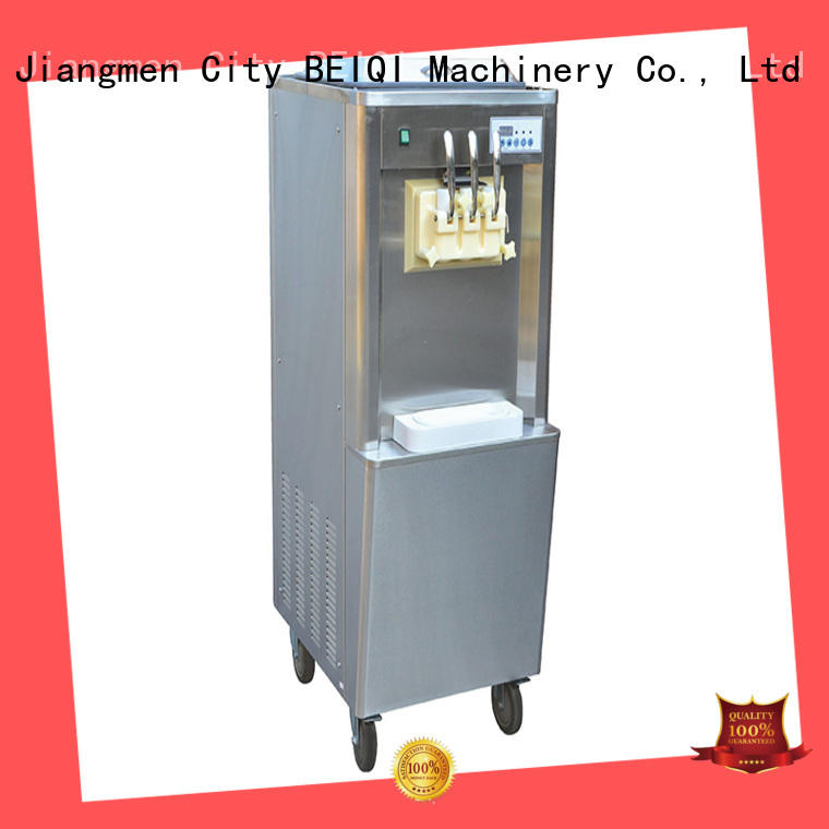 solid mesh Soft Ice Cream Machine for sale customization Frozen food Factory